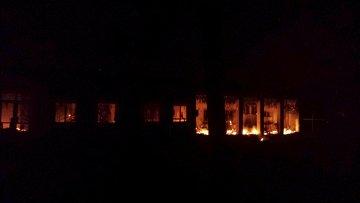 Здание больницы Врачей без границ после удара с воздуха в Кундузе