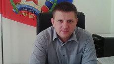Председатель Народного Совета ЛНР Алексей Карякин. Архивное фото
