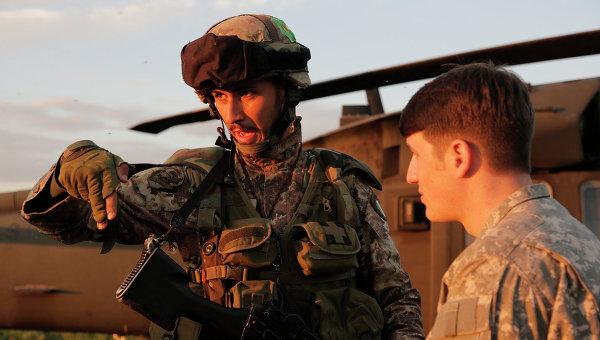 Учения войск в Европе