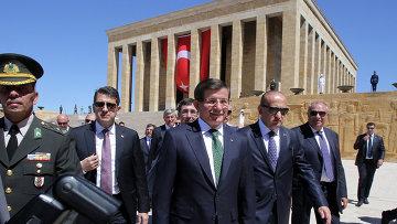 Премьер-министр Турции Ахмет Давутоглу. Архивное фото