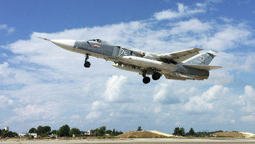 Российская боевая авиация на аэродроме Хмеймим в Сирии, архивное фото