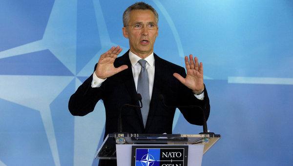 Генеральный секретарь НАТО Йенс Столтенберг . Архивное фото