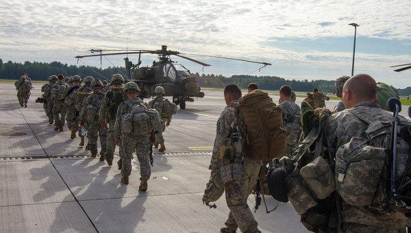 Солдаты США в Латвии. Архивное фото