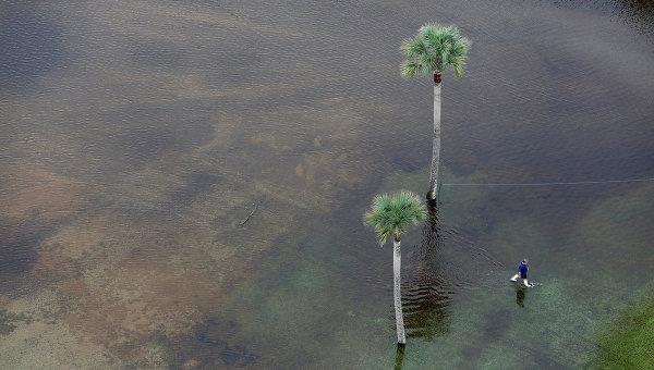 Паводок в Южной Каролине, США. Октябрь 2015. Архивное фото