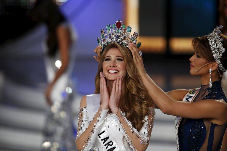 Победительница конкурса красоты Мисс Венесуэла 2015 в Каракасе