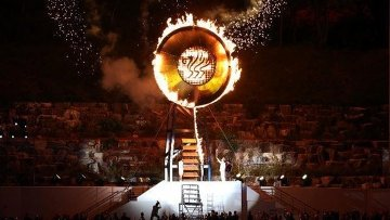 VI Всемирные военные игры в Корее. Церемония открытия