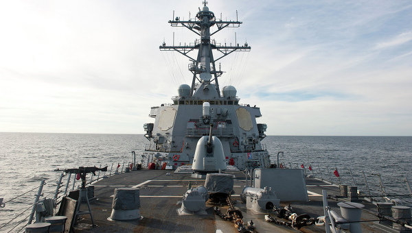 Эсминец ВМС США Портер. Архивное фото