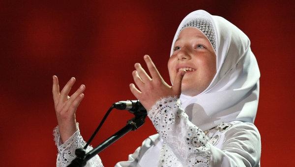 Дочь главы Чеченской республики Рамзана Кадырова Хутмат. Архивное фото