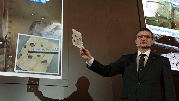 Оглашение результатов эксперимента по моделированию катастрофы Boeing 777