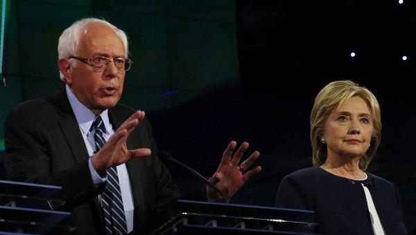 Кандидаты в президенты от Демократической партии США Бери Сандерс. Архивное фото