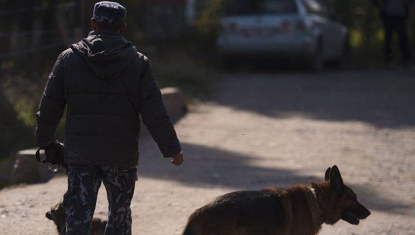 Сотрудник правоохранительных органов Киргизии. Архивное фото