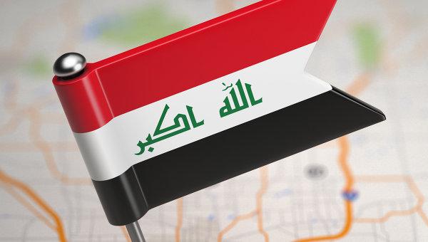 Флаг Ирака. Архивное фото