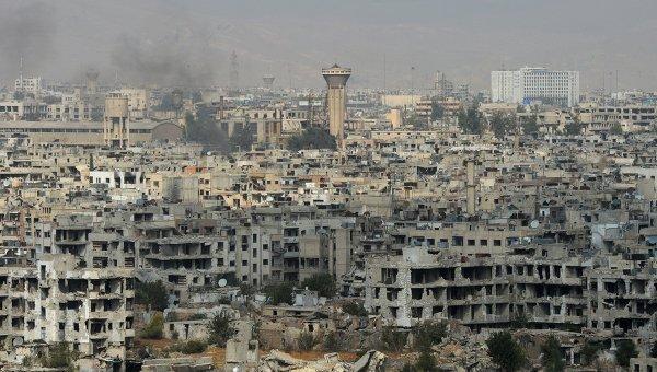 Вид на район Джобар в Дамаске. Архивное фото