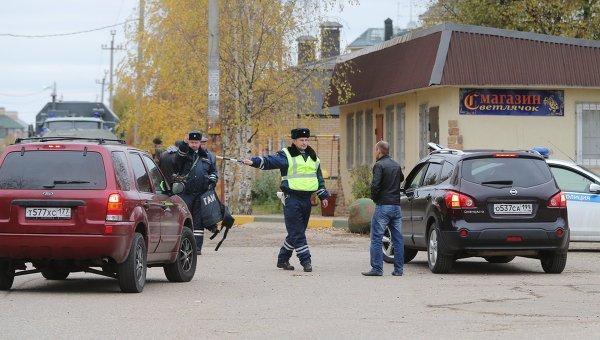 Полиция оцепила деревню Тимошкино, где может скрываться Амиран Георгадзе. Архивное фото