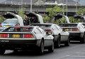 Встреча владельцев машин DeLorean в Белфасте