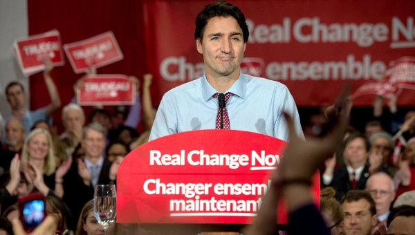 Канадский политик Джастин Трюдо