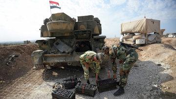 Бойцы САА в Сирии