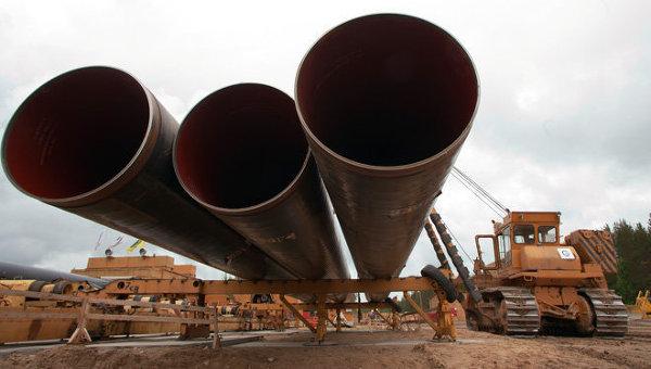 Строительство газопровода Ухта – Торжок. Архивное фото