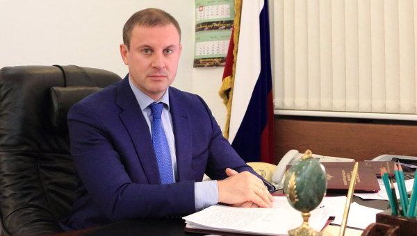 Заместитель министра природных ресурсов и экологии РФ - руководитель Федерального агентства лесного хозяйства Иван Валентик