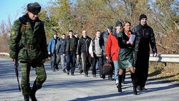 Обмен пленными в ЛНР, архивное фото
