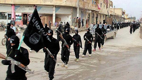 Боевики группировки Исламское государство
