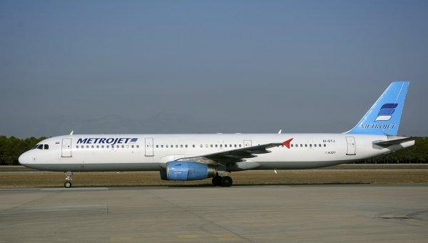 Самолет Airbus A321 авиакомпании Metrojet, потерпевший крушение в Египте, в аэропорту Анталии, Турция. 17 сентября 2015