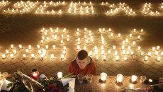 Траурные мероприятия по жертвам авиакатастрофы в Симферополе