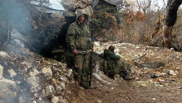 Бойцы отряда сирийского ополчения. Архивное фото