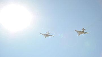 Российский самолеты на авиабазе Хмеймим. Архивное фото