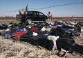 """Личные вещи пассажиров на месте крушения самолета Airbus A321 авиакомпании """"Когалымавиа"""" в Египте"""