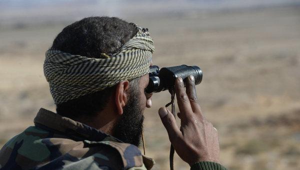 Солдат Сирийской Арабской Армии