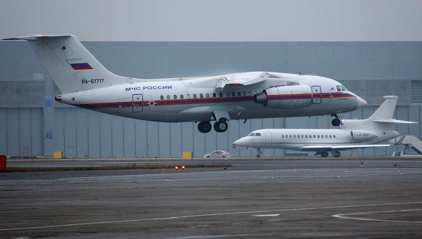 Борт МЧС России, доставивший тела жертв крушения Airbus A321 авиакомпании Когалымавиа на Синайском полуострове. Архивное фото