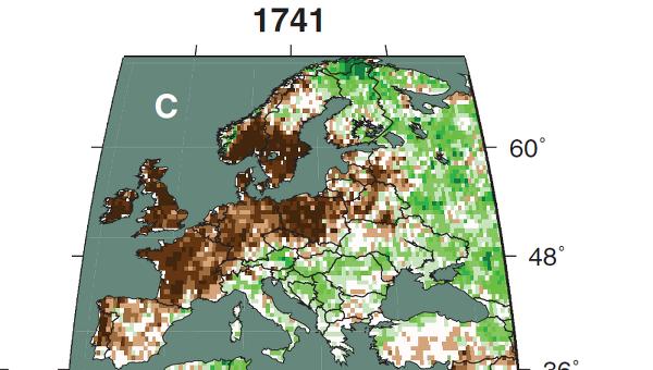 Засуха в Европе в 1741 году