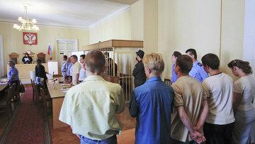 Оглашение приговора по делу об убийстве Тимура Качаравы. Архив