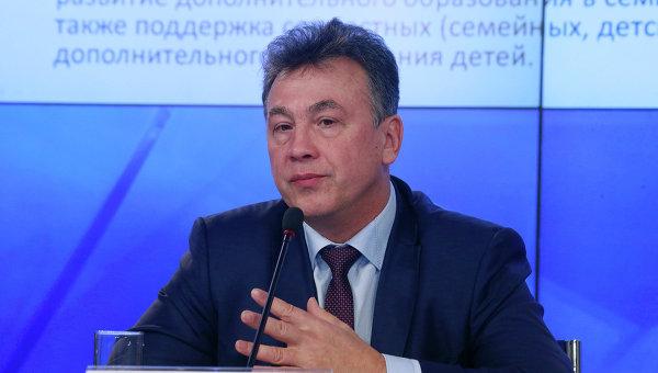 Заместитель министра образования и науки РФ Вениамин Каганов