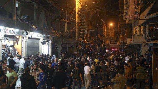 Теракт в Бейруте, Ливан