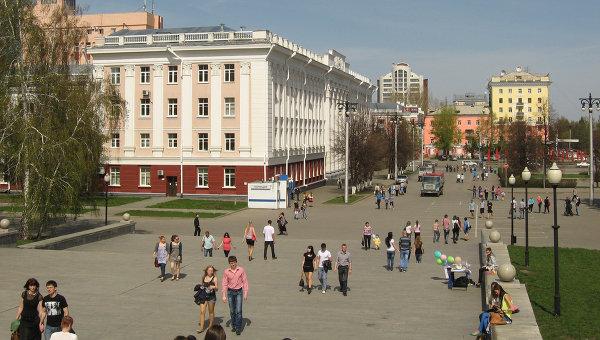 Вид Барнаула. Архивное фото