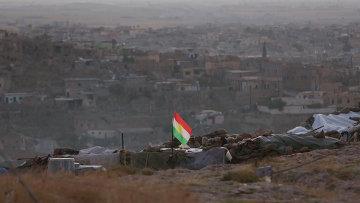 Курдские вооруженные силы в городе Синджар.Архивное фото