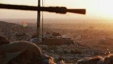 Курдские вооруженные силы в городе Синджар. Архивное фото