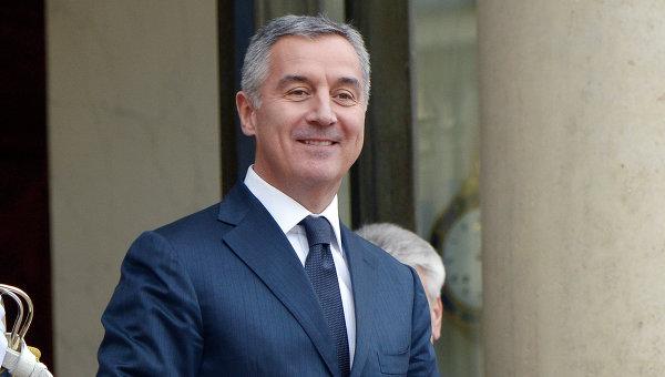Премьер-министр Черногории Мило Джуканович. Архивное фото