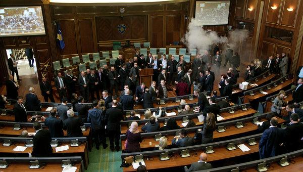 Парламент Косово. Архивное фото