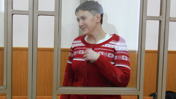 Украинская летчица Надежда Савченко. Архивное фото
