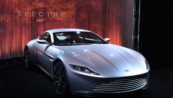Автомобиль Джеймса Бонда - Aston Martin DB10. Архивное фото