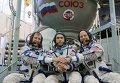 Тренировка экипажа МКС 46/47 экспедиции. День второй