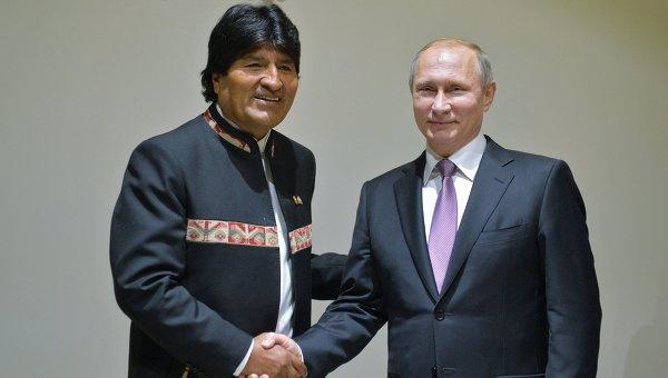 МИД Боливии: Путин пообещал изучить территориальный спор страны с Чили