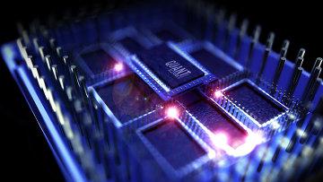 Квантовый процессор. Архивное фото