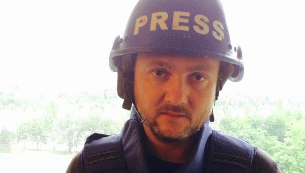 Корреспондент RT Роман Косарев. Архивное фото