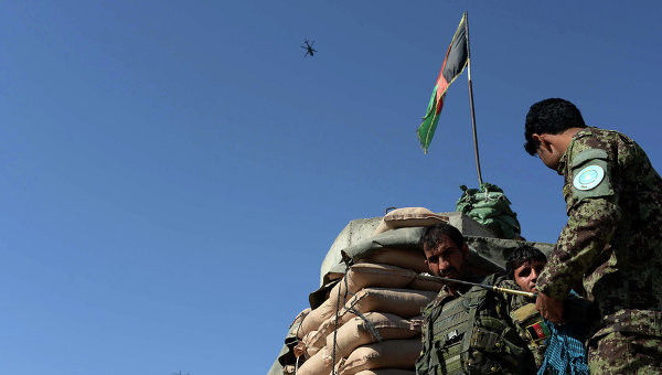 Солдаты ВС Афганистана. Архивное фото
