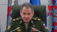 Шойгу рассказал об операции по спасению штурмана сбитого в Сирии Су-24