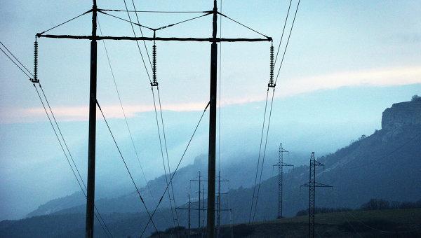 Ситуация с энергоснабжением Крыма. Архивное фото.